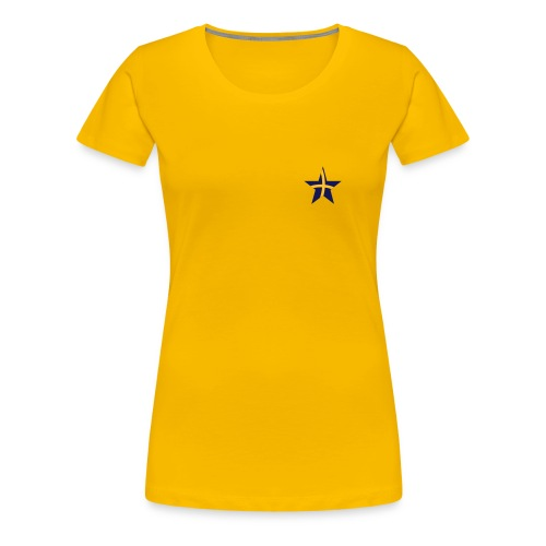 Women's Sweden Classic Girlie T Yellow - Women's Premium T-Shirt