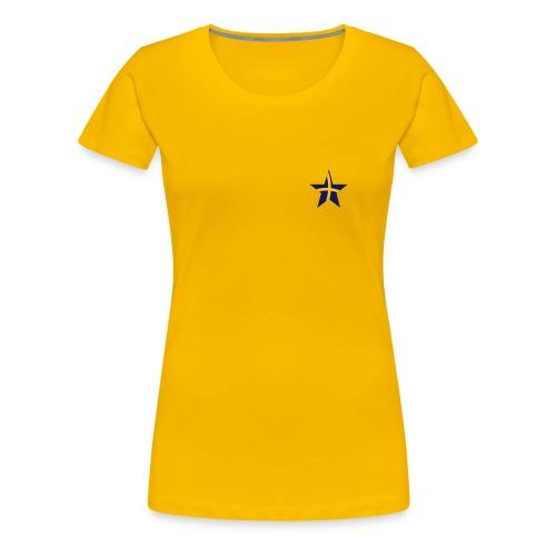 Women's Sweden Classic Girlie T Yellow - Women's Premium T-Shirt