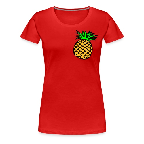 tee-shirt ananas - T-shirt Premium Femme