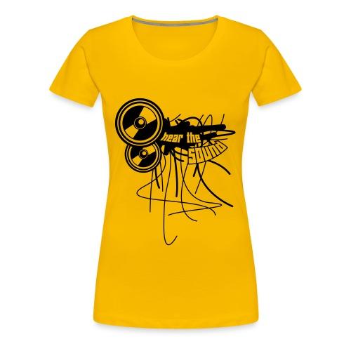 THE SOUND-SHIRT - Frauen Premium T-Shirt