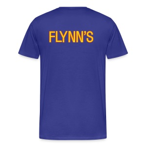 Flynn's (backprint) - Men's Premium T-Shirt