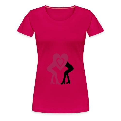 le bisousfemme - T-shirt Premium Femme