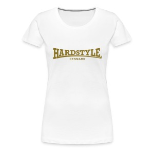 Hardstyle Denmark - Gold - Women's Premium T-Shirt