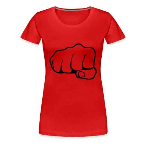 poing - T-shirt Premium Femme