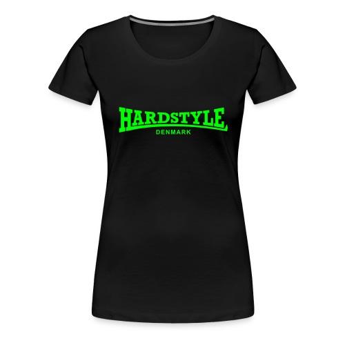 Hardstyle Denmark - Neongreen - Women's Premium T-Shirt