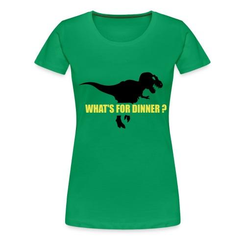 Hungrig? - Premium-T-shirt dam
