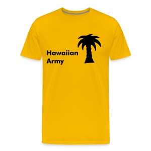 Hawaiian Army - w - ASC 01 - Men's Premium T-Shirt