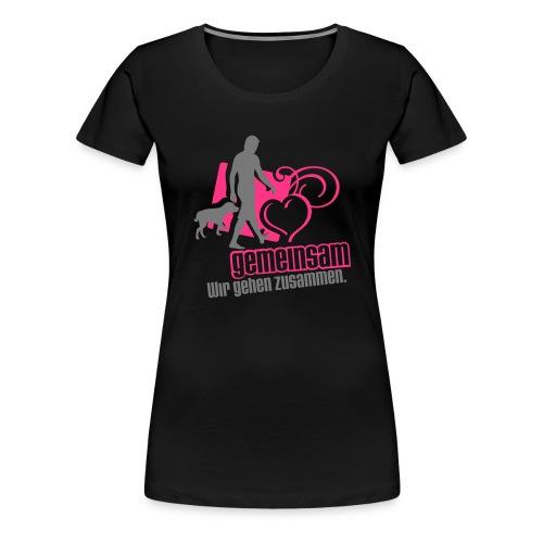 gemeinsam - Frauen Premium T-Shirt
