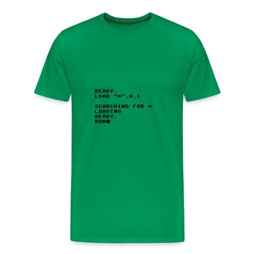 DVD o PC t-shirt - Premium-T-shirt herr