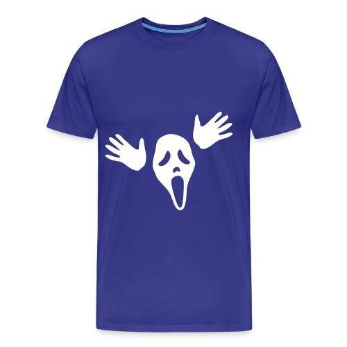 t-shirtuomo urlo - Maglietta Premium da uomo