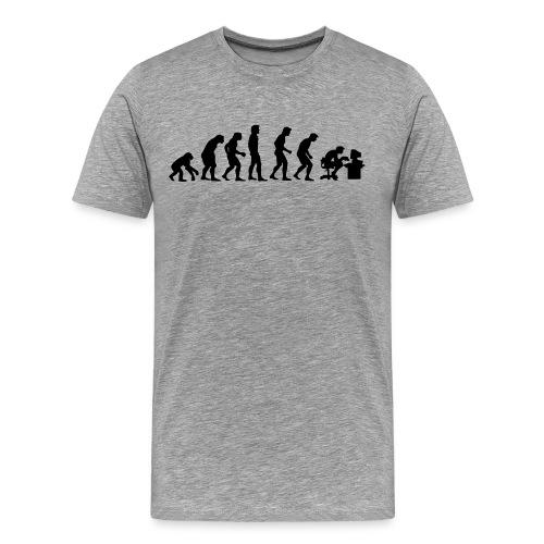 Evolution - Premium T-skjorte for menn