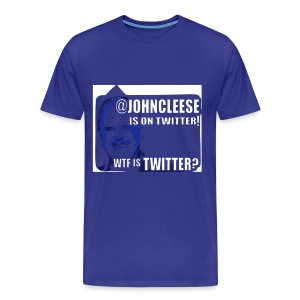 WTF is Twitter? Men's Less Trendy - Men's Premium T-Shirt
