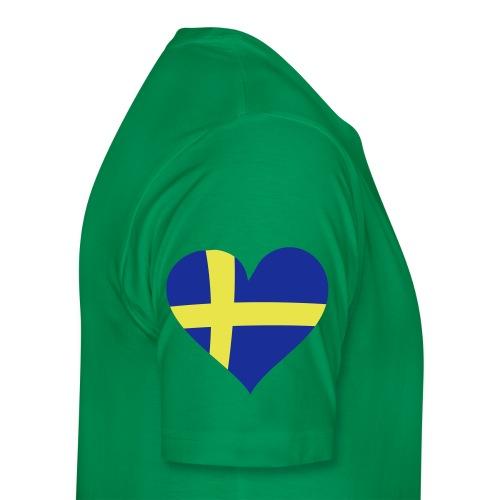 100% Skåning - Premium-T-shirt herr