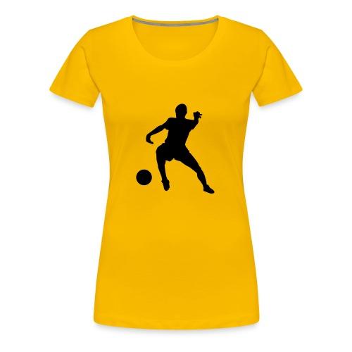 Fottball - Frauen Premium T-Shirt