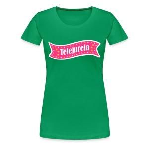 Telejurela Grün (w) - Frauen Premium T-Shirt