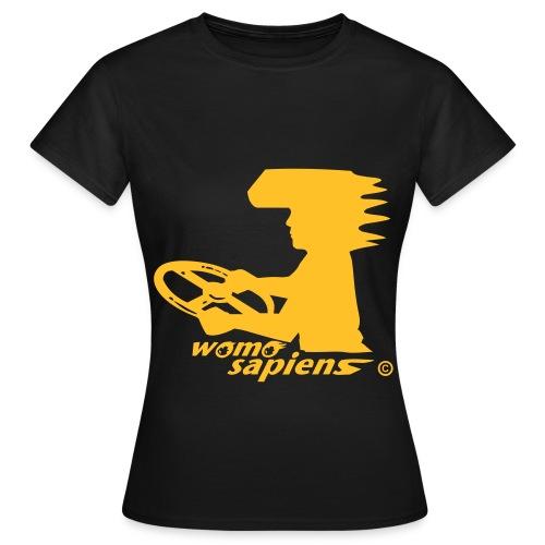 WOMO SAPIENS - Frauen T-Shirt