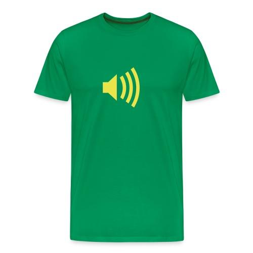 macht die lauscher auf! - Männer Premium T-Shirt
