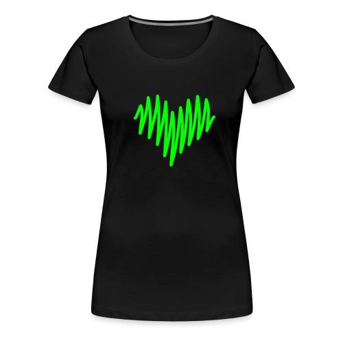 Love Line - Women's Premium T-Shirt
