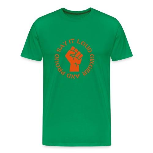 Ginger and Proud - Men's Premium T-Shirt
