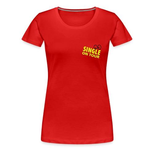 singel - Premium-T-shirt dam
