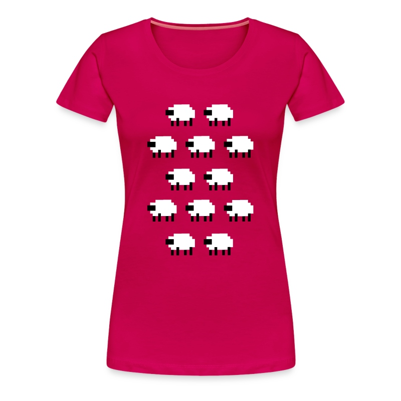 purplesheep - Women's Premium T-Shirt
