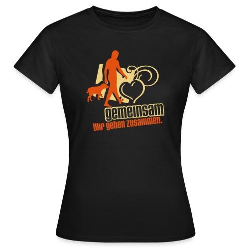 gemeinsam - Frauen T-Shirt