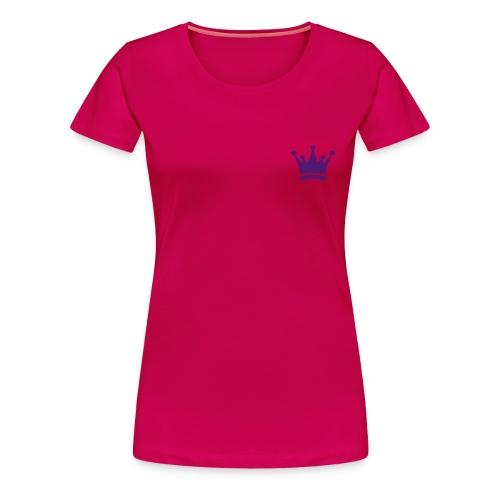 Royal Pink Tee - Women's Premium T-Shirt