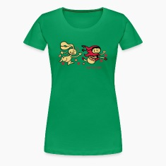 Grass green Naughty Red Riding Hood Women's Tees