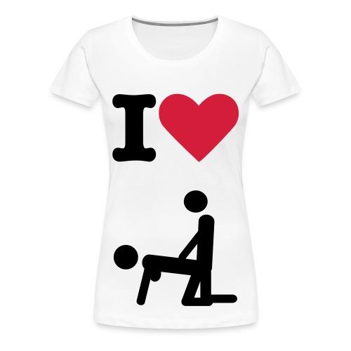 I love foocking - Camiseta premium mujer