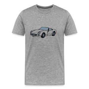 Chimaera sports car Ash T-Shirt - Men's Premium T-Shirt