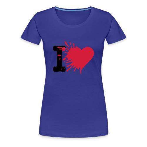 simple coeur - T-shirt Premium Femme