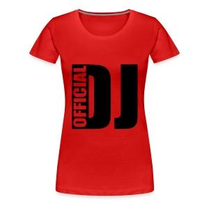 DJ official - Koszulka damska Premium