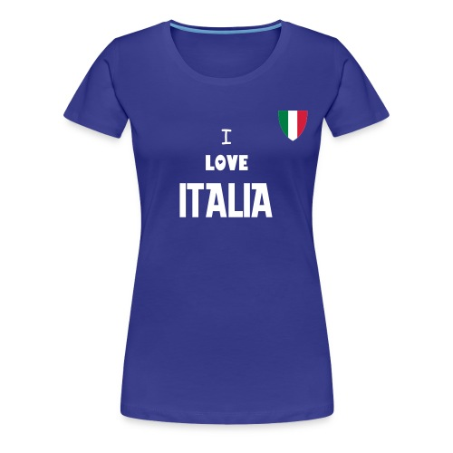 I LOVE ITALIA - Women's Premium T-Shirt