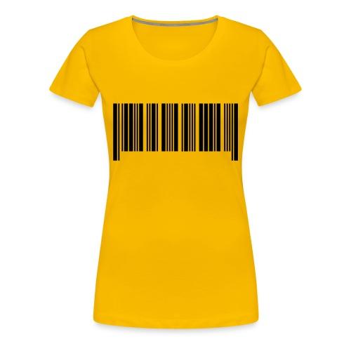 barcode - Women's Premium T-Shirt
