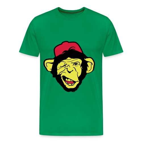 Captain monkey - T-shirt Premium Homme