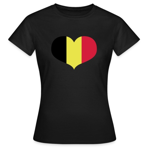 I Love Belgium T Shirt Women - Women's T-Shirt