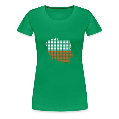 pologne - T-shirt Premium Femme