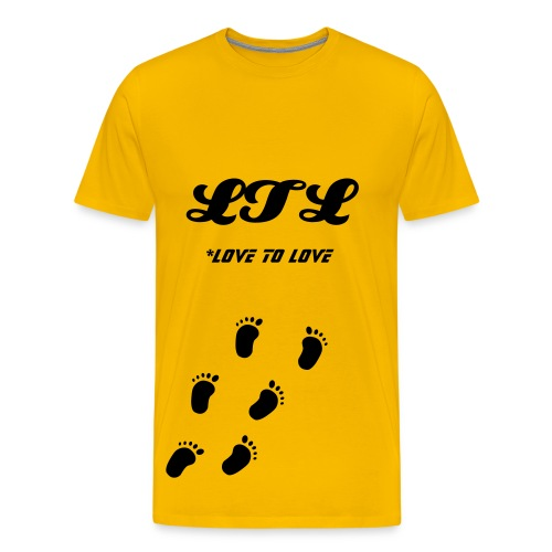 Step back to the love - T-shirt Premium Homme