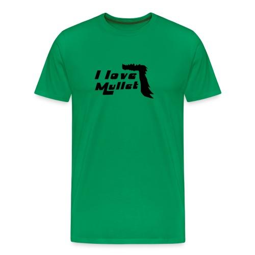 I Love Mullet - Men's Premium T-Shirt