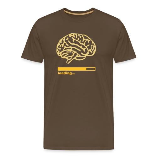 Loading brain - Premium T-skjorte for menn