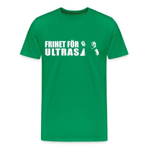 Mörkgrön Frihet för ultras t-shirt - Premium-T-shirt herr