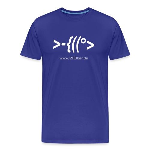 200bar.de Shirt Sky - Männer Premium T-Shirt