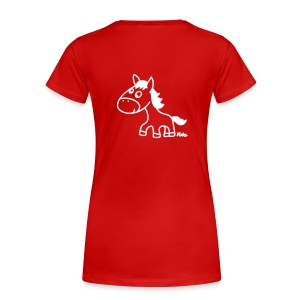 Womens I Love My Horse T-Shirt - Women's Premium T-Shirt