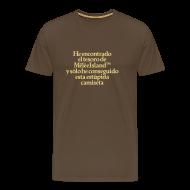 Camisetas ~ Camiseta premium hombre ~ Monkey Island (Tesoro Melee Island)