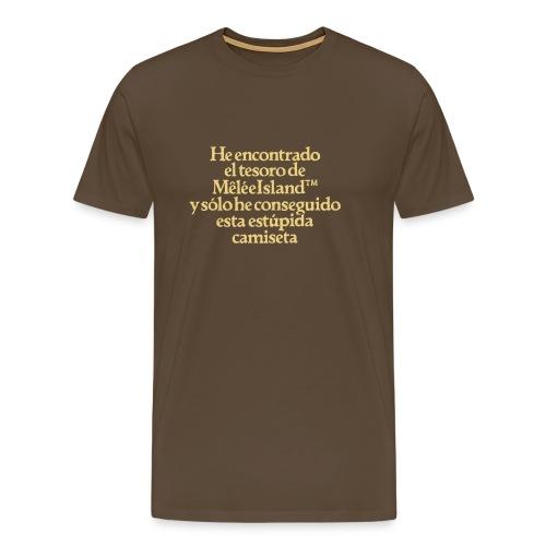 Monkey Island (Tesoro Melee Island) - Camiseta premium hombre