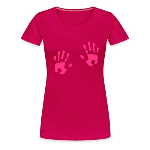 Freche Hände - Frauen Premium T-Shirt