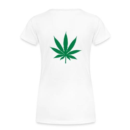womens tie shirt - Women's Premium T-Shirt
