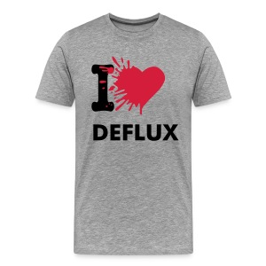 I Love Deflux - Men's Premium T-Shirt