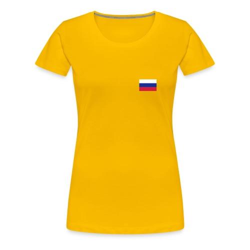 RU Flagge - Frauen Premium T-Shirt