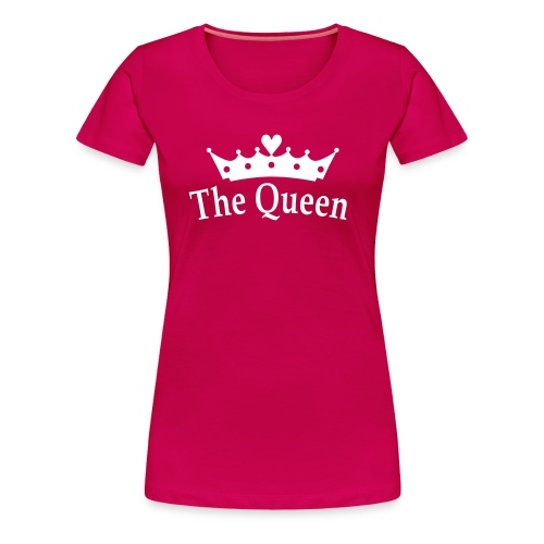 camiseta modelo queen varios colores - Camiseta premium mujer